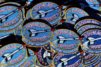 Douglas Rocket Patch (Bulk)