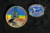 Douglas Rocket and Robert Goddard Patch Set